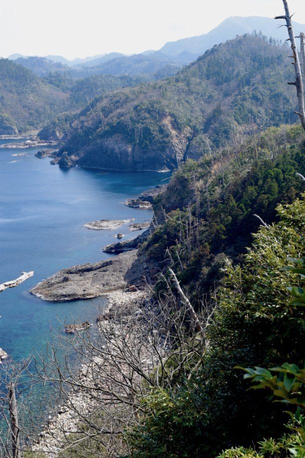 隠岐の島の松山